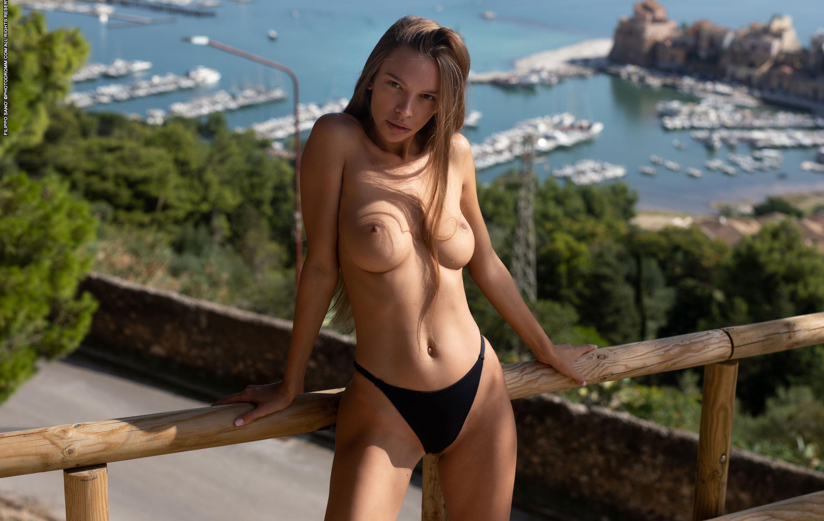 эротические открытки фотомодели Алины Ротару / фото 03