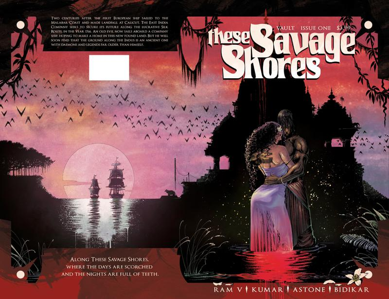 These Savage Shores #1-4 (2018-2019)