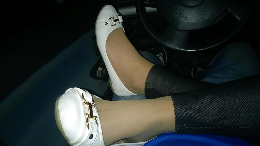 Lesbian foot fetish nylon-6313