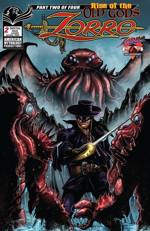 Zorro - Rise of the Old Gods #1-4 (2019-2020)