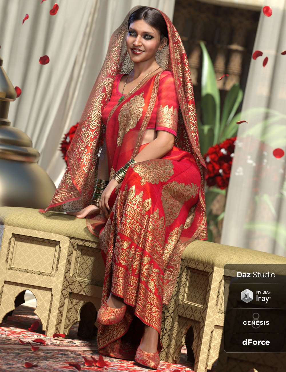 dForce Bollywood Bride for Genesis