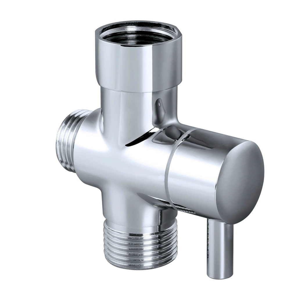 T Adapter Brass Toilet Bidet Sprayer Faucet Diverter