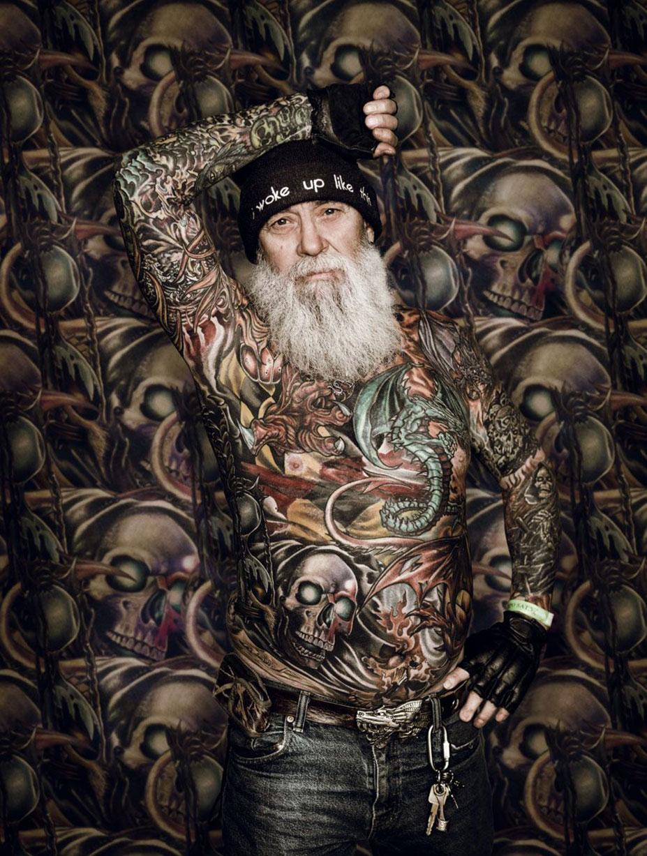 тело, полностью покрытое татуировками / Tattoo Project by Cade Martin