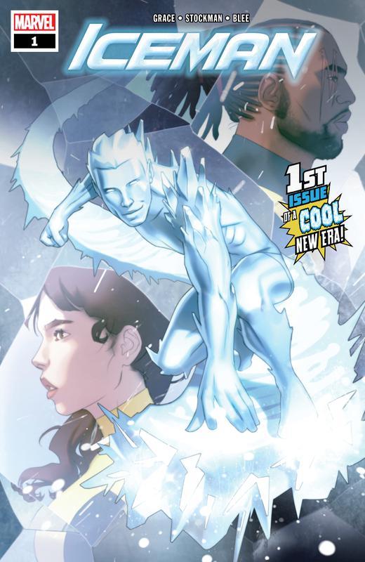 Iceman Vol.4 #1-5 (2018-2019) Complete