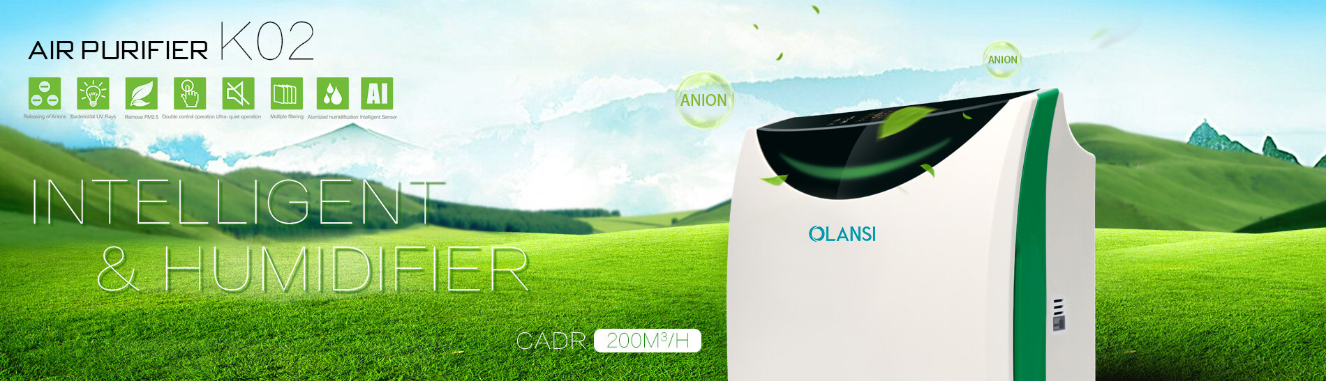 Olansi Healthcare Co., Ltd Newly Launched Air Purifiers To Make People To Breathe Easier And Live Healthier