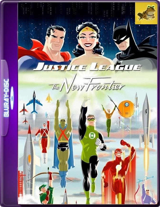 Liga De La Justicia: La Nueva Frontera (2008) Brrip 1080p (60 FPS) Latino / Inglés