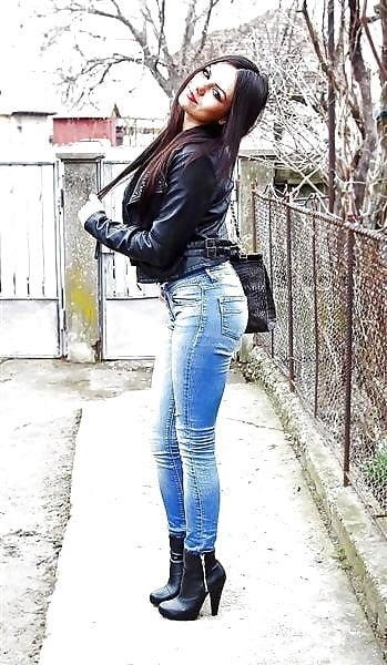 Divided jean jacket-9718