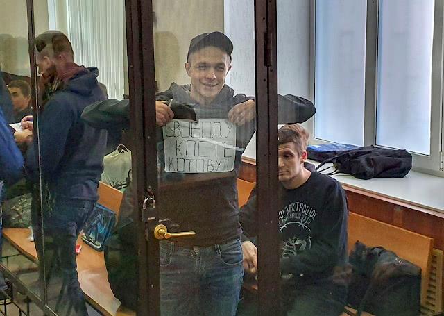 Илья Шакурский на суде в Пензе по продлению ареста