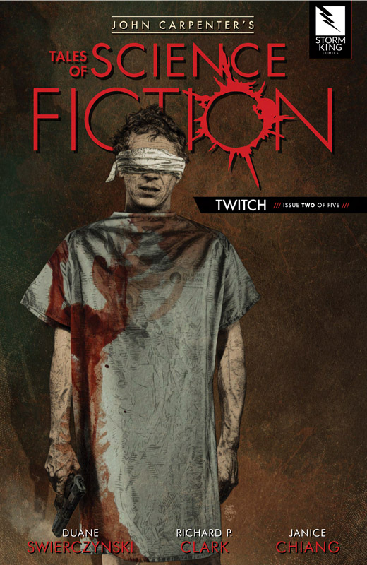 John Carpenter's Tales of Science Fiction - Twitch #1-3 (2019)