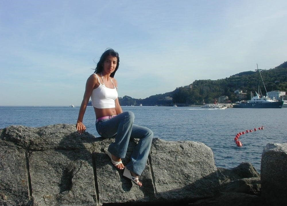 Wife naked on vacation-9763