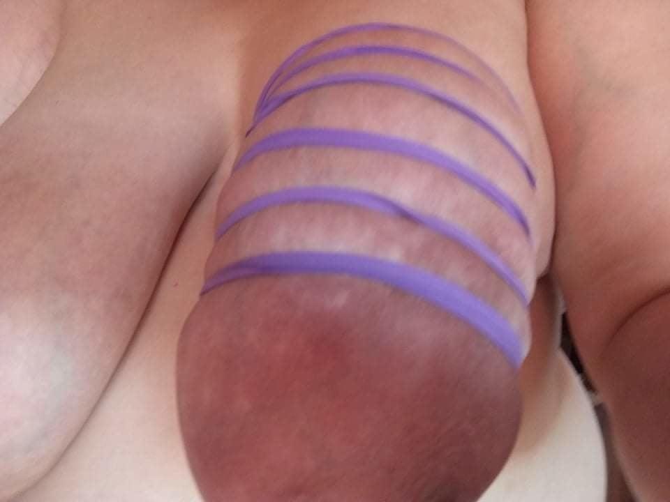 Self breast bondage-3771