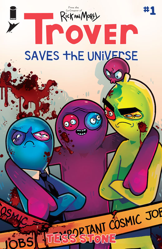 Trover Saves the Universe #1-2 (2021)
