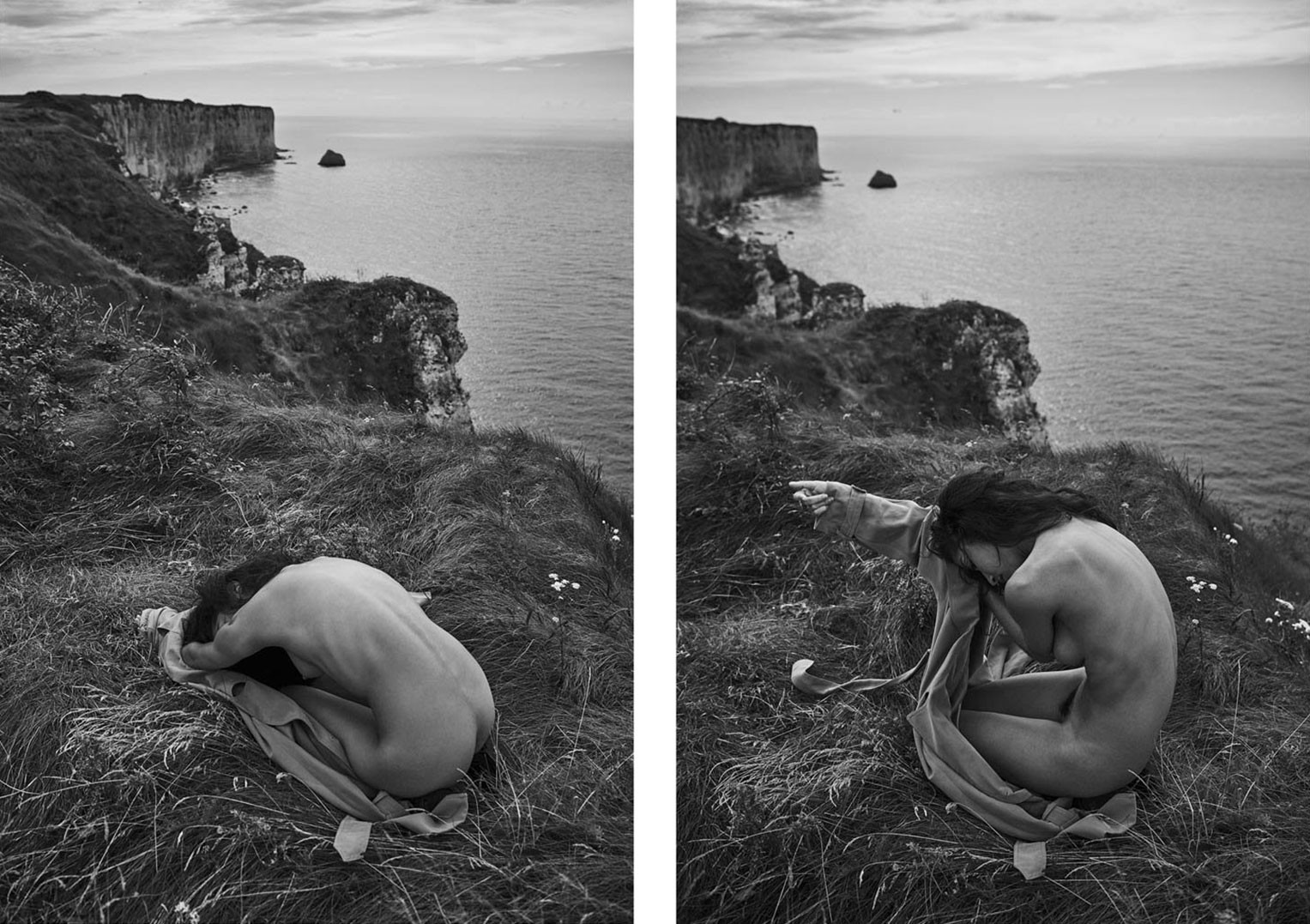 Emilie Payet nude by Stefan Rappo - The Forest Magazine