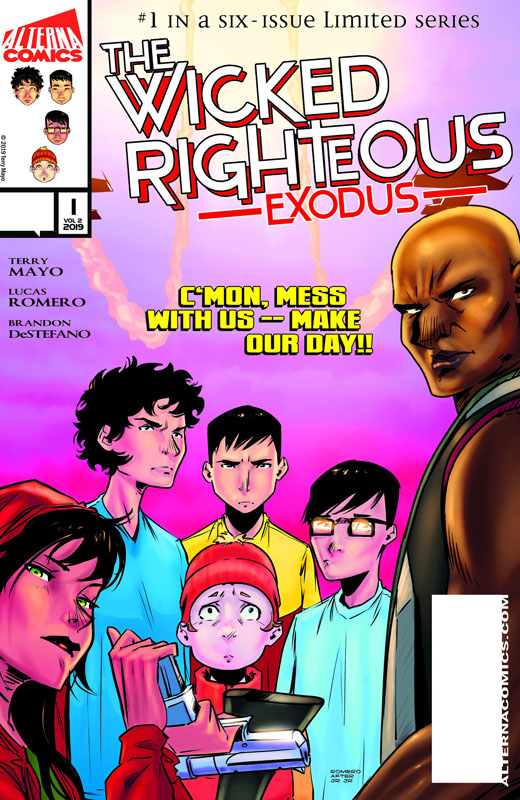 The Wicked Righteous - Exodus #1-3 (2019)