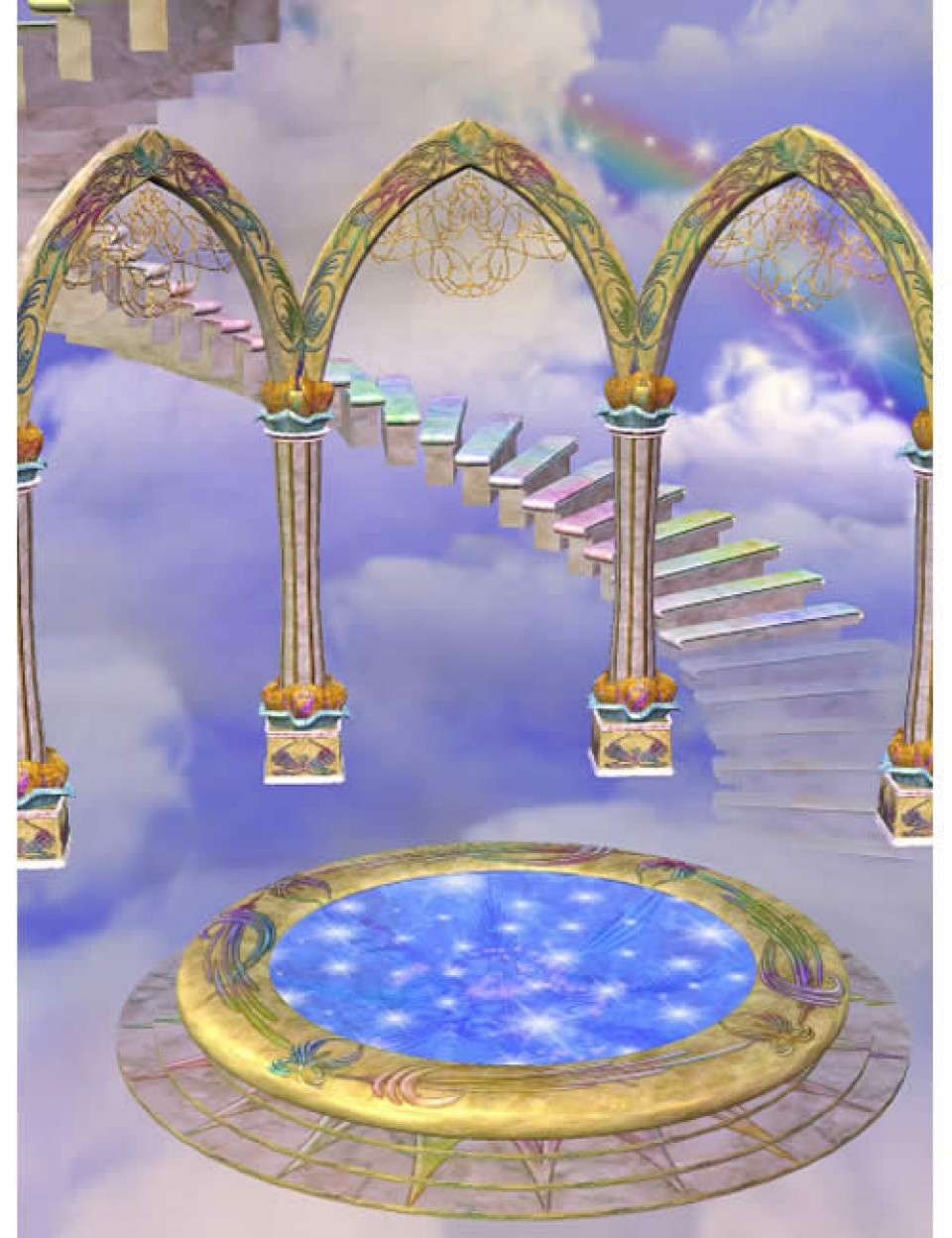 Celestial Arches for Serenity Arches