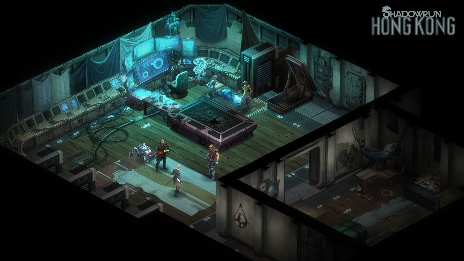 Shadowrun: Hong Kong – Extended Edition Captura 2