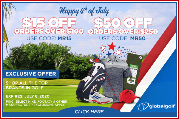 Global Golf Fourth of July sale