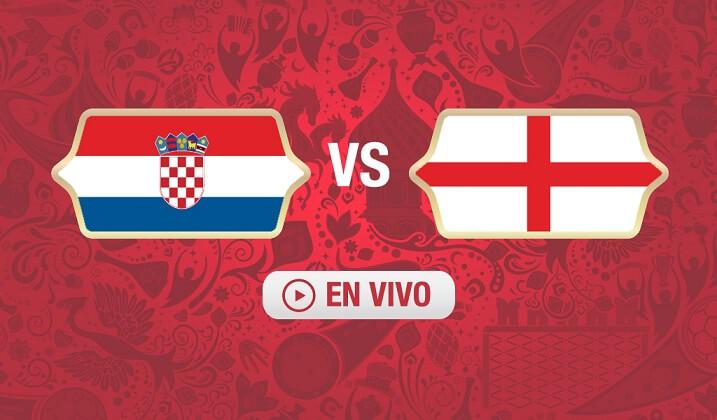 Partido Croacia vs Inglaterra mundial 2018