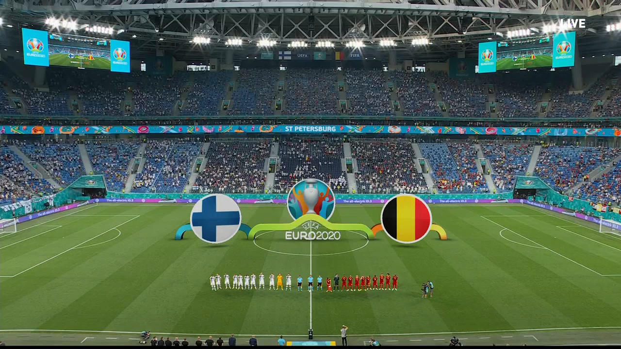 Full match: Finland vs Belgium