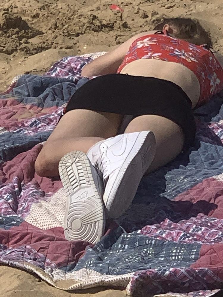 Nude beach upskirt-9222