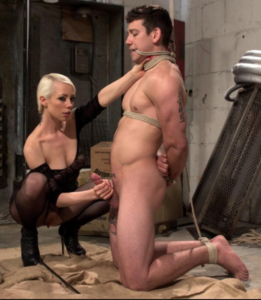 Femdom milking torture-8543