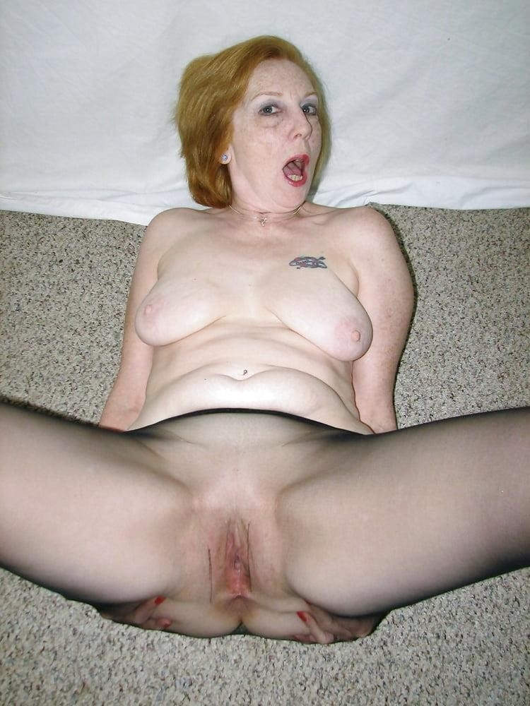 Ginger granny anal-6513