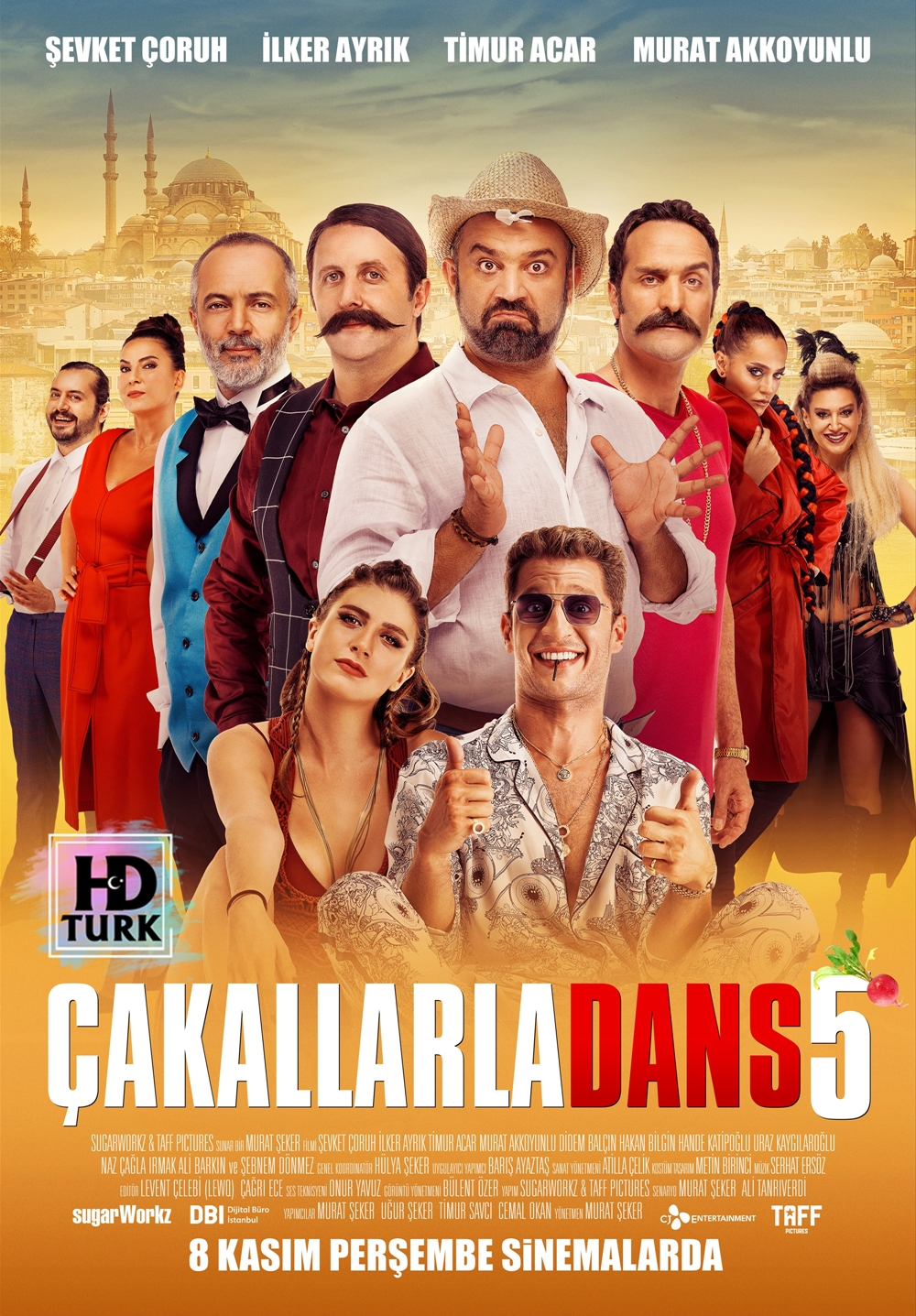 Çakallarla Dans 5 2018 Yerli Sansürsüz 1080p NF WEB-DL H264 AC3 5.1 - HdT.mkv