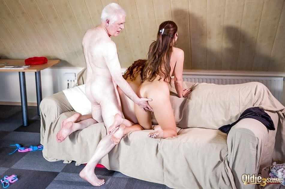 Threesome sex two girls-5741