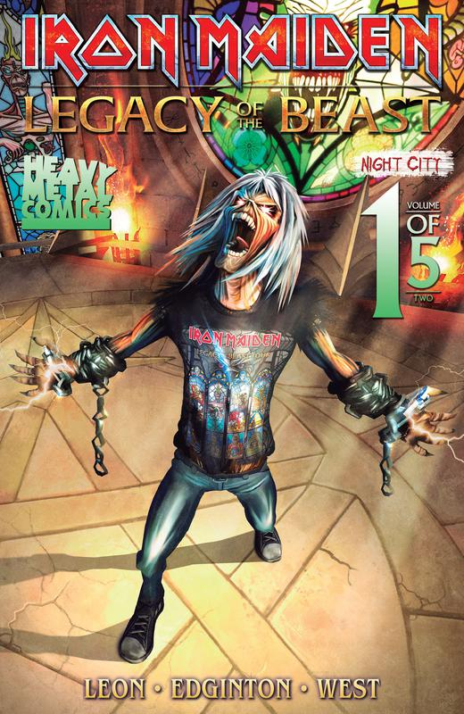 Iron Maiden - Legacy of the Beast - Night City #1-5 (2019-2020) Complete
