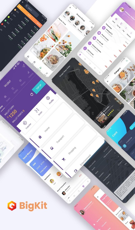 Flutter Biggest UI Kit - Flutter UI KIT no kit Flutter 2.0 UI - 11