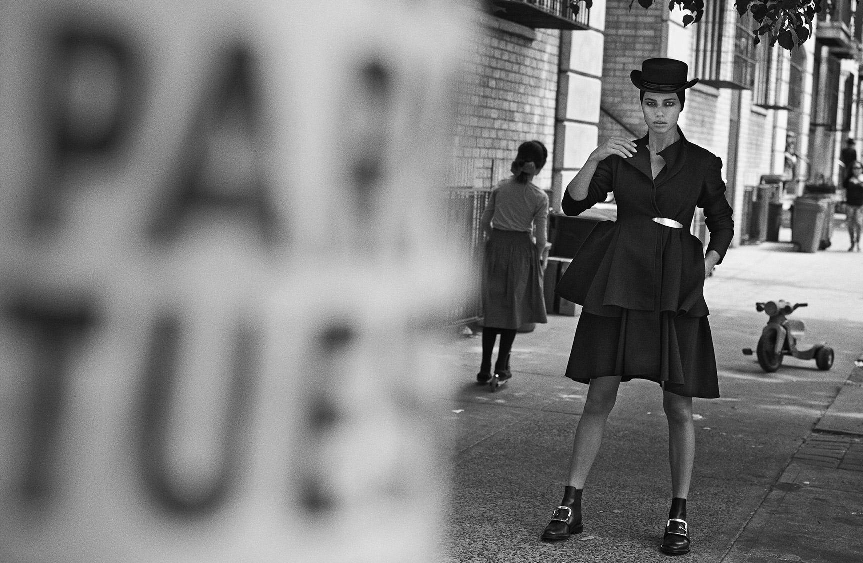 Прогулка по Бруклину с Адрианой Лимой / фото 01