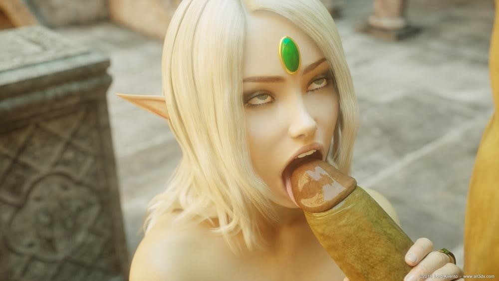 Sexy anime elf girl-4894