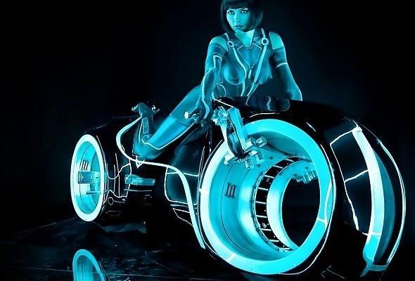 Girls bike with handle-9749