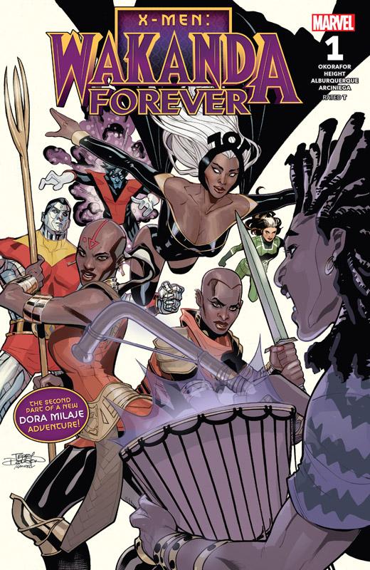 X-Men - Wakanda Forever 001 (2018)
