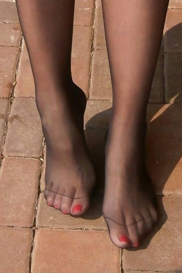 Nylon feet porn hd-8767