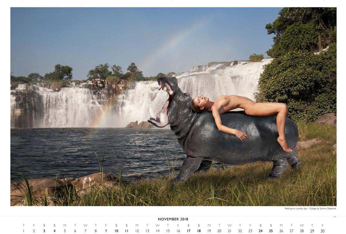 Marisa Papen / PlanetPlastic 2018 calendar