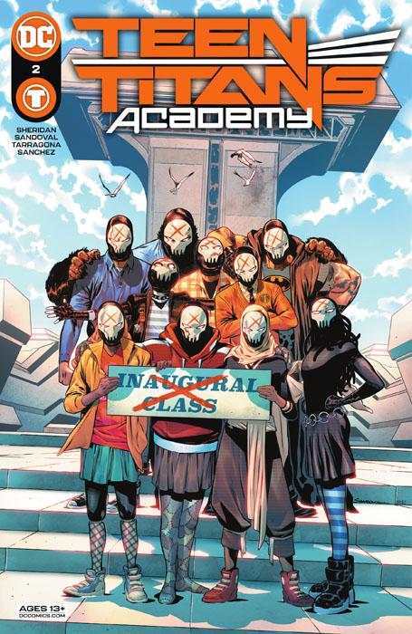 Teen Titans Academy #1-6 + Yearbook (2021)