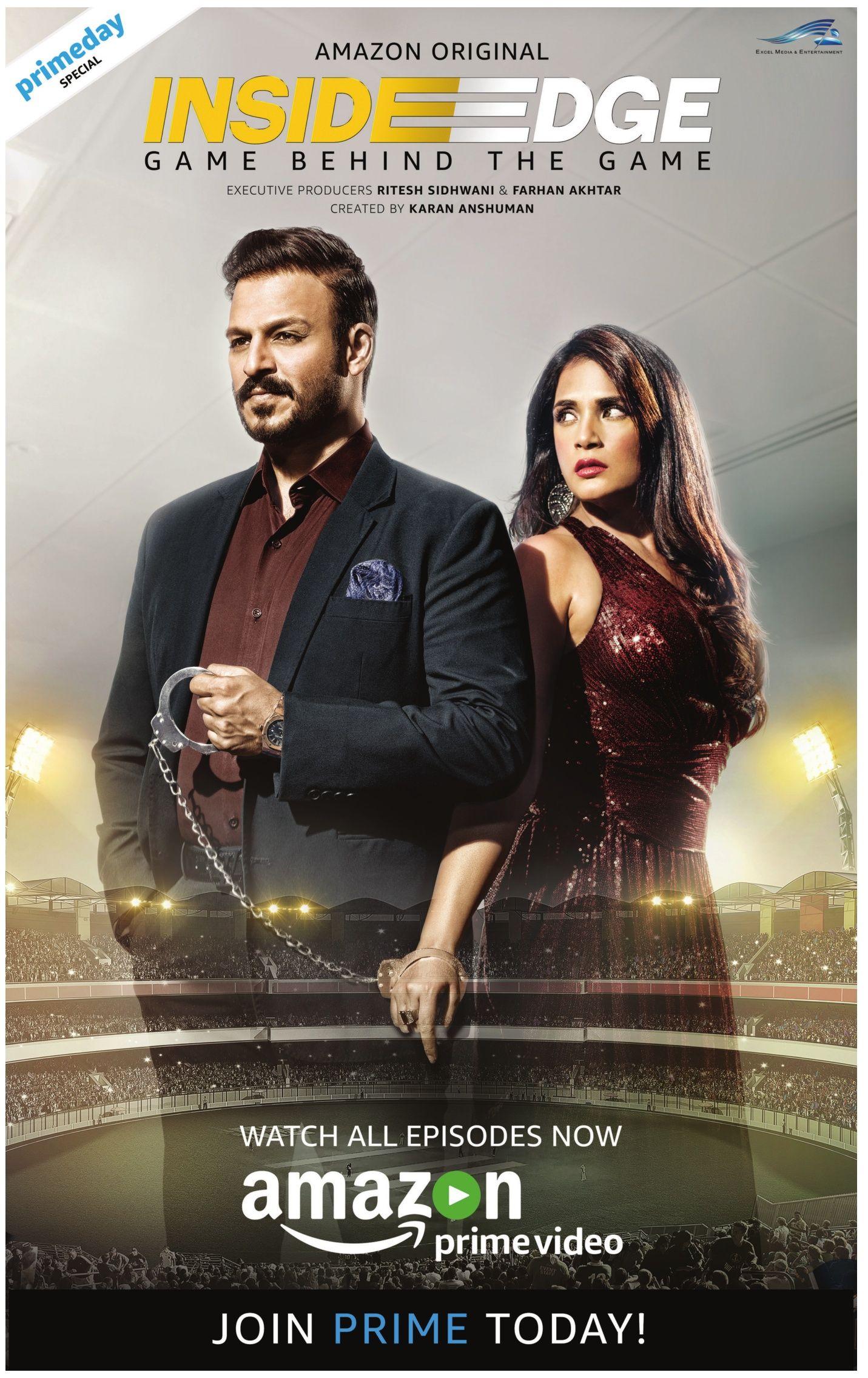 Inside Edge S01 2017 Hindi 1080p 10 Bit HEVC WEB-DL DD5.1
