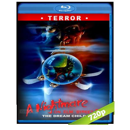 descargar Pesadilla En La Calle Del Infierno 5 [1989][BD-Rip][720p][Trial Lat-Cas-Ing][Terror] gratis