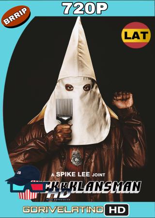 El Infiltrado Del KKKlan (2018) BRRip 720p Audio Trial Latino-Castellano-Ingles MKV