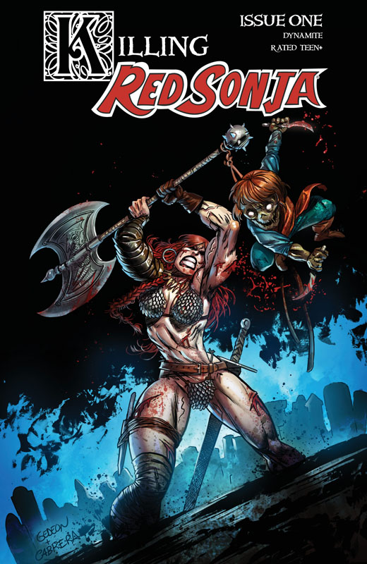 Killing Red Sonja #1-3 (2020)