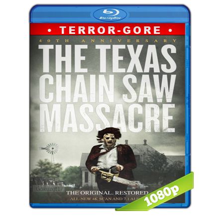 La Masacre De Texas 1 (1974) BRRip Full 1080p Audio Trial Latino-Castellano-Ingles 5.1