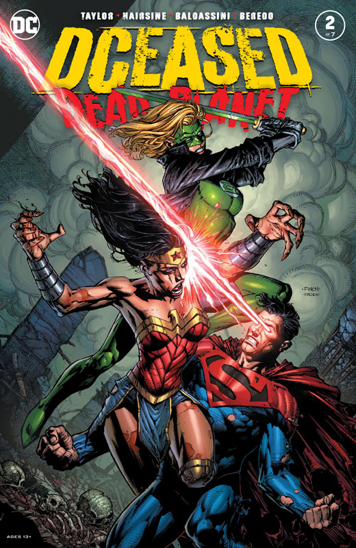 DCeased - Dead Planet #1-4 (2020)