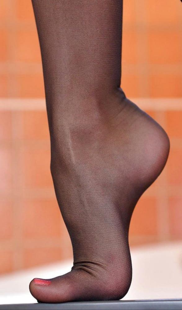 Nylon feet porn hd-2484