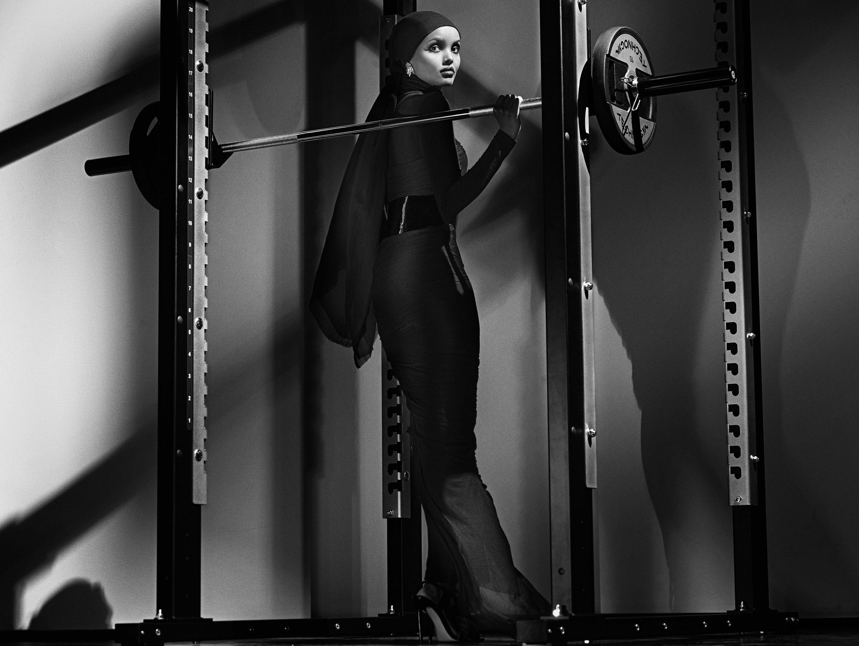 CR Fashion Book Calendar 2018 / Halima Aden by Steven Klein