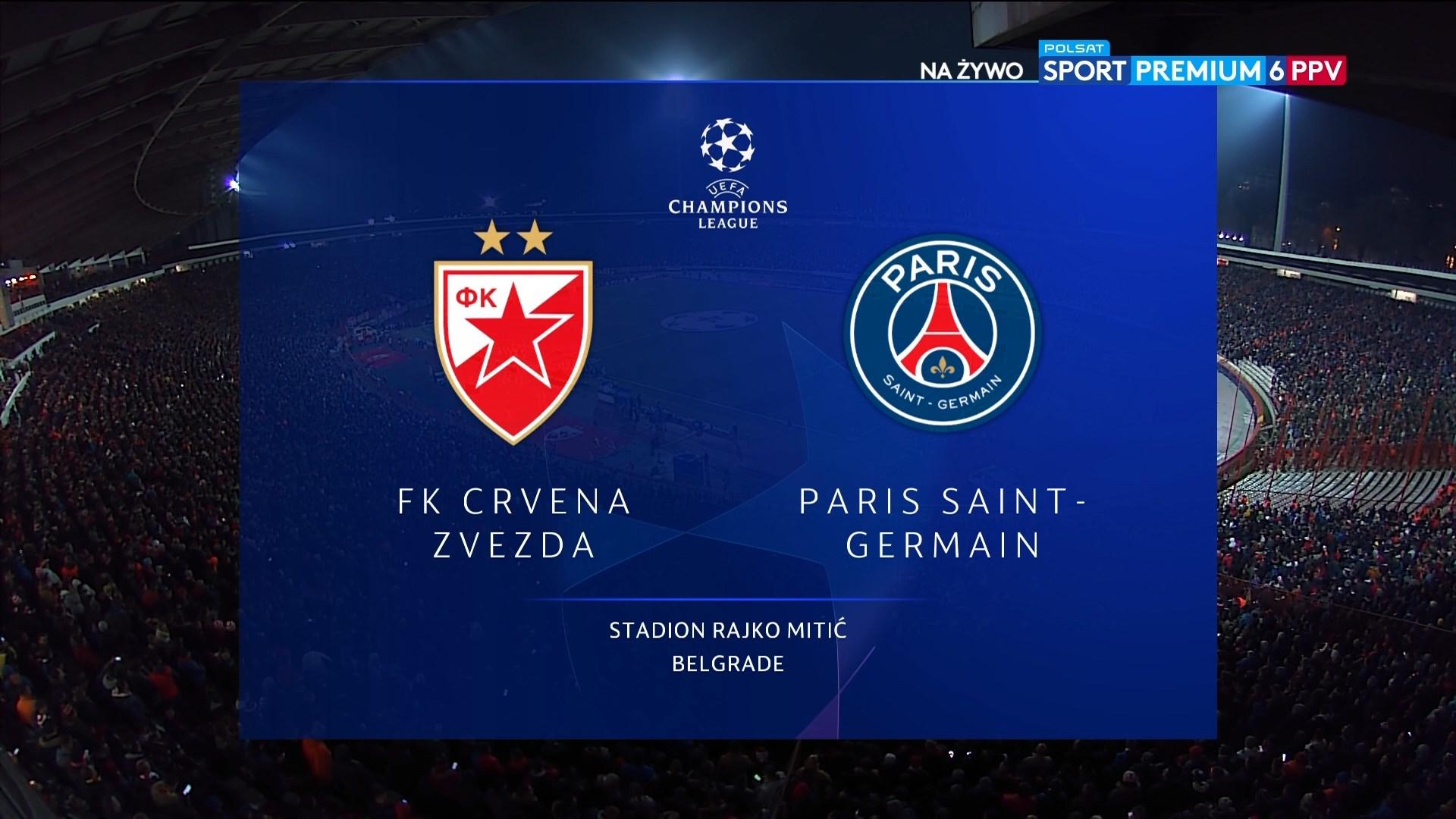 Xem lại: Crvena Zvezda vs PSG