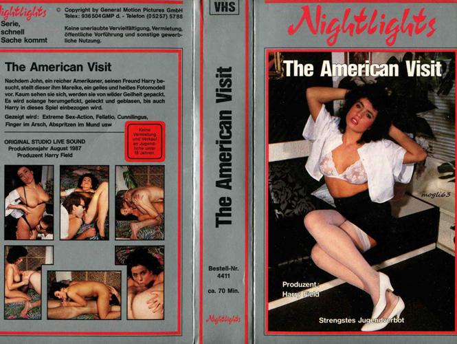 The American Visit / Визит американца (Jack Fleetwood, GMP) [1987 г., Classic, All Sex, VHSRip] (Maruschka, Jim Rockwell, Jack Fleetwood)