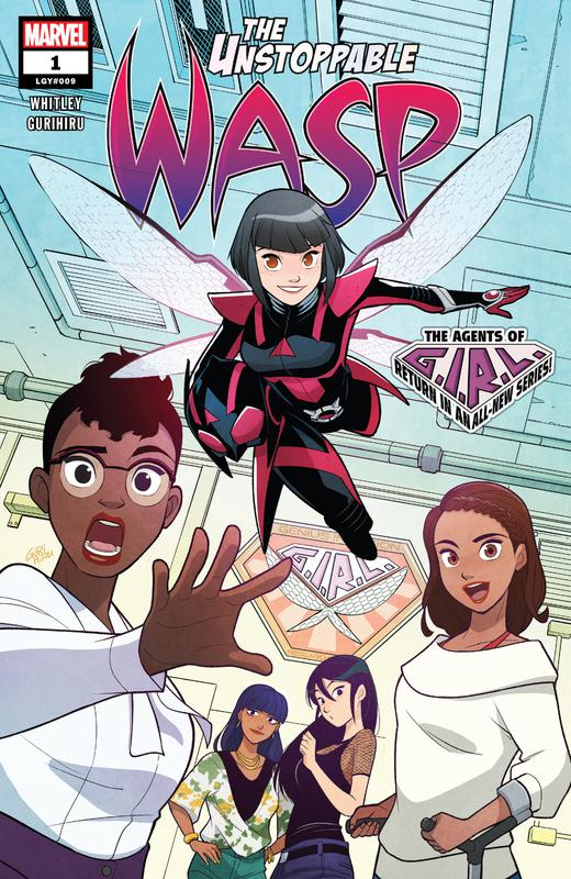 The Unstoppable Wasp Vol.2 #1-10 (2018-2019)