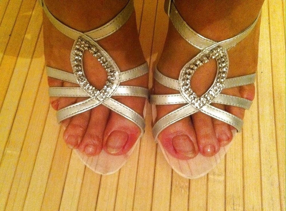 Natural tits high heels-5265