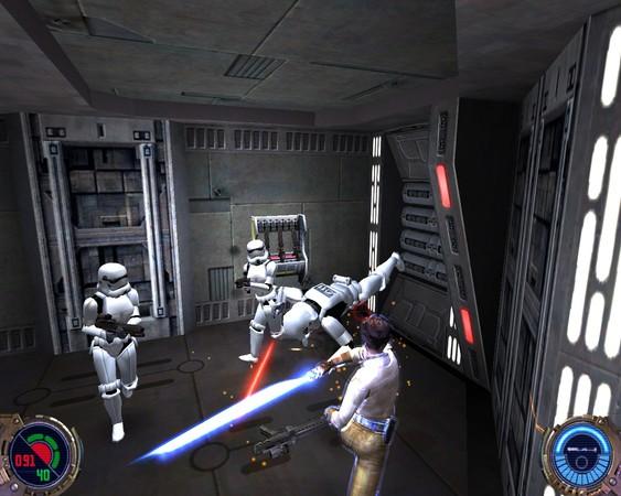 Star Wars: Jedi Knight II – Jedi Outcast Captura 1